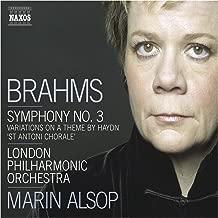 Brahms: Symphony No. 3 / Haydn Variations