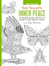 Color Yourself to Inner Peace Postcard Book: 20 Winged Animal Spirits to Color In and Reduce Stress