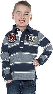 La Martina sweater Boys white Dark brown F73
