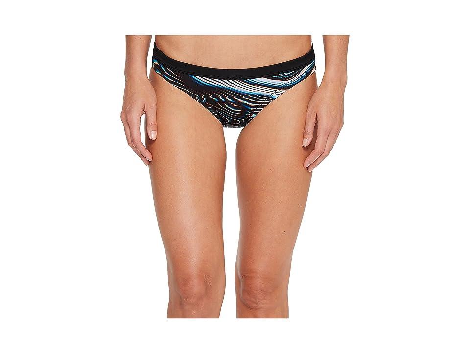 Nike Geo Aftershock Bikini Bottom (Black) Women
