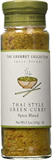The Gourmet Collection Spice & Seasoning Blend, Thai Style Green Curry - Spicy & Sweet for Chicken, Vegetables, Fish: Gril...