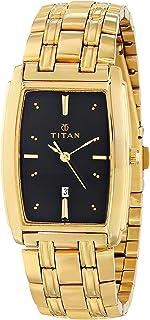 Titan Regalia Analog Black Dial Men's Watch -NM1163YM03 / NL1163YM03