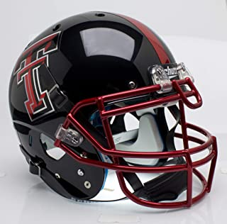NCAA Texas Tech Red Raiders Collectible On-Field Authentic Football Helmet
