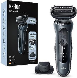 Braun Series 6 60-N1200s Afeitadora Eléctrica, máquina de afeitar barba hombre de Lámina, Con Recortadora De Precisión, Us...
