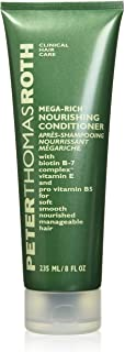 Mega-Rich Nourishing Conditioner, Biotin B-7 Complex Conditioner for Softer, Smoother, Healthier-Looking Hair