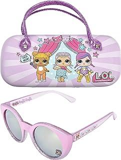 KIDS SUNGLASSES – GIRLS 100% UV SUNGLASSES W BONUS FUZZY...