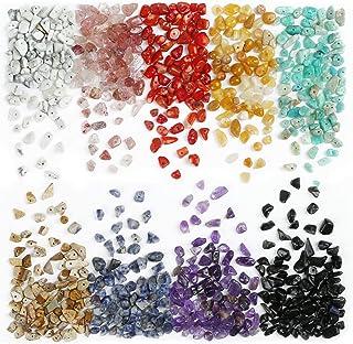 LEMESO pack de Surtidos de Abalorios Pietras Colores Kit de DIY Bisutería de Piezas Completas
