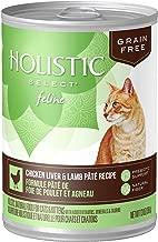 Eagle Pack & Holistic Holistic Select Natural Wet Grain Free Canned Cat Food Chicken Liver & Lamb Pâté