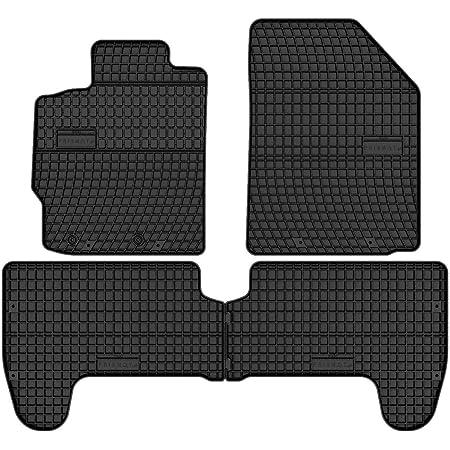 Frogum 0808 Gummimatten Auto Fußmatten Gummi Passgenau 4 Teiliges Automatten Set Schwarz Auto