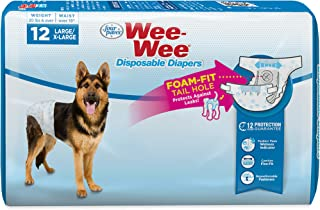 Four Paws Wee-Wee Products Disposable Dog Diapers