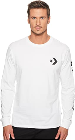 Converse - Star Chevron Wordmark Long Sleeve Tee