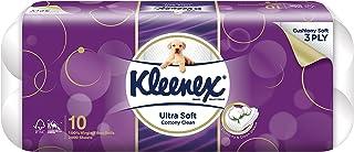 Kleenex Ultra Soft Bath Tissue, 200ct, Pack of 10