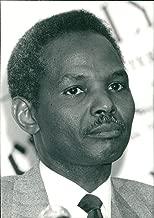 Vintage photo of Rilwanu Lukman Nigerian engineer.