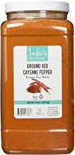 Jackie's Kitchen 2/4 Lbs Ground Red Pepper (Cayenne), 4.00 Lb (Pack Of 2)