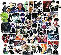 Mob Psycho 100 Anime Cartoon Stickers(50pcs) Snowboard Laptop Luggage Car Motorcycle Bicycle Fridge DIY Styling Vinyl Home Decor (Mob Psycho 100)