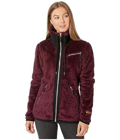 Obermeyer Britt Fleece Jacket (Wine-Not) Women