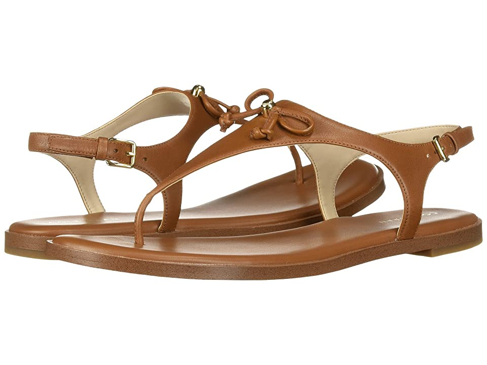 Cole Haan Findra Thong Sandal (British Tan) Women