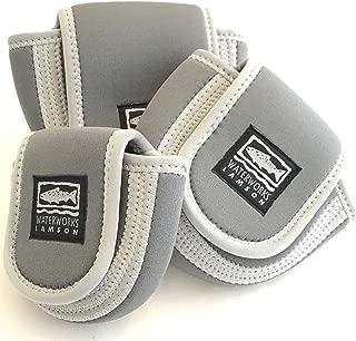 Lamson Neoprene Reel Case - Grey/Black Medium