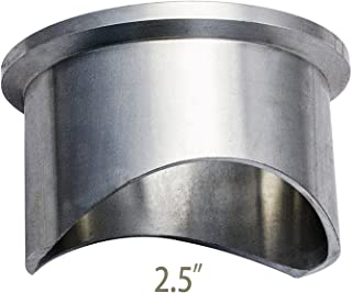 Blow-Off Valve Vband Aluminum Weld Flange for 2.5pipe