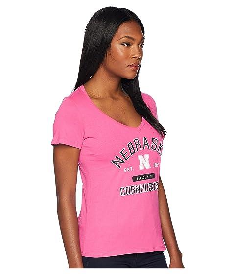 Nebraska University Champion Cornhuskers Tee Neck College V rrxtF5wCq