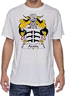 Acosta Coat of Arms/Family Crest, Moister Wicking Sports T-Shirt