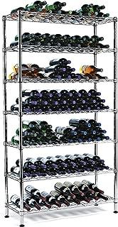 Wine Enthusiast 126 Bottles Steel Pantry Wine Rack