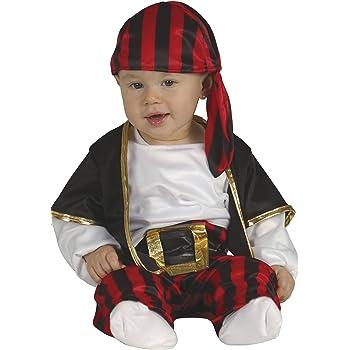 Vestito Costume Carnevale  Baby Pirata PIRATESSA Deluxe  18 24 Mesi