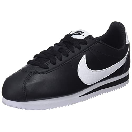 low cost d5c38 1568f NIKE Women s WMNS Classic Cortez Leather Gymnastics Shoes