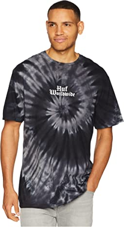 Bar Bird Tie-Dye Short Sleeve Tee