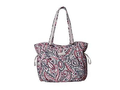 Vera Bradley Iconic Glenna Satchel (Gramercy Paisley) Bags