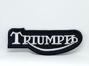 Triumph Drapeau GB thermocollant BLUE HAWAI Toppe aufnaher Toppa