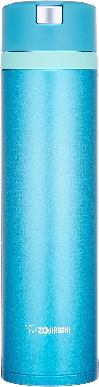 Zojirushi Water Bottle Stainless Mug Marine Blue [Quick  Easy O