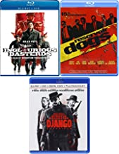 A Perfect Crime Dogs Basterds Django Inglorious unchained [Blu-ray] Reservoir Quentin Tarantino Set Triple Feature 3 movie set