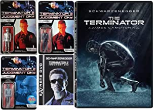 T-1000 Might Have Something For Arnold: Terminator 1 + 2: Judgement Day + Funko Re-Action 3pk Of T-1000 Figures (T-1000 Officer/ T-1000 Officer *Silver Chase*/ T-1000 Frozen Patrolman *NYCC Exclusive)