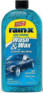 Rain X RX51820D 20 Oz Rain-X Wash & Wax With Carnauba Wax Beads