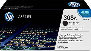 HP 308A Hewlett Packard Original LaserJet Colour Sphere Toner Cartridge, Black - Q2670A