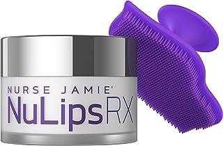 NURSE JAMIE NuLips RX - Balsamo idratante per labbra + pennello esfoliante (12 ml)