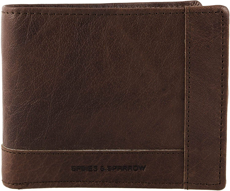 Spikes & Sparrow Bronco Wallets Geldbörse I Leder 12,5 cm B011A08S70