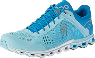 ON Women's Cloudflow Running Shoes, Blue/Haze