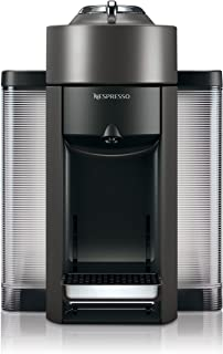 Nespresso ENV135GY Coffee and Espresso Machine by De'Longhi, Graphite Metal