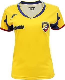 colombia soccer jersey women's