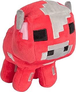 JINX Minecraft Happy Explorer Baby Mooshroom Plush Stuffed Toy, Red, 5.25