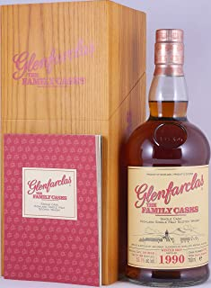 Glenfarclas 1990 29 Years The Family Casks Sherry Hogshead Cask 1188 Highland Single Malt Scotch Whisky Cask Strength 53,1% Vol. - eine von nur 186 Flaschen!