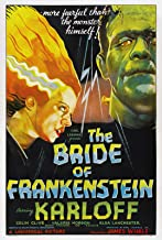 DROB Collectibles The Bride of Frankenstein Movie Vintage Poster Art Reprint 17 x 23 Archival Ink in Glossy Paper VMP05