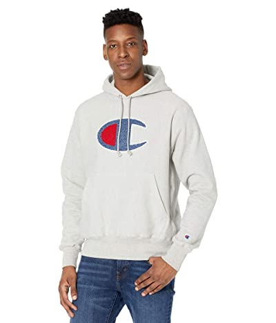 Champion LIFE Reverse Weave(r) Pullover Hoodie (Oxford Gray) Men