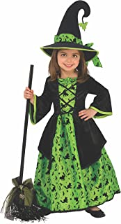 Costume Co - Girls Green Witch Costume