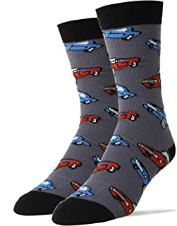 Oooh Yeah Men's Crew Funny Novelty Socks Stang Car