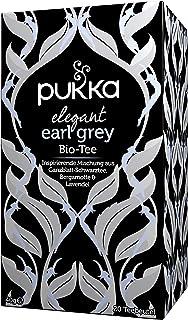 Pukka Bio-Tee Elegant Earl Grey 80 Teebeutel, 4er Pack 4 x 20 beutel