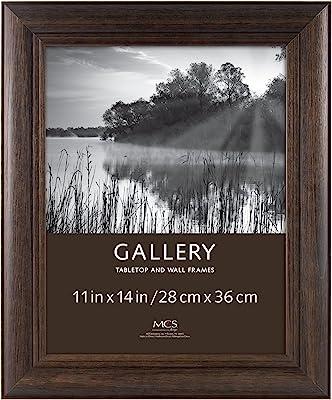 MCS 11x14 Inch Wide Wood Frame, Burnt Oak (65661)