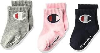 Champion baby-boys Champion 3-pack Infant Quarter Gripper Socks Socks
